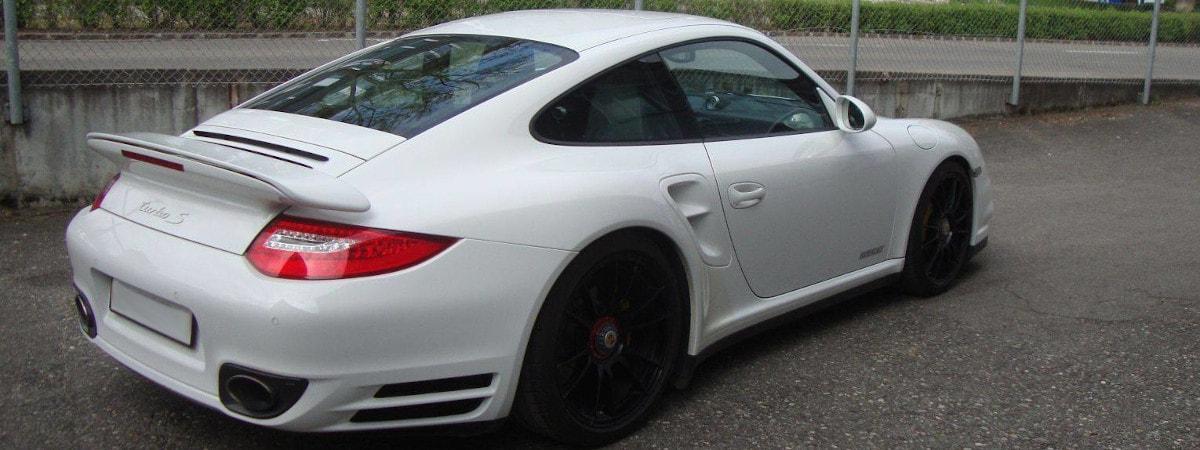 Porsche Turbo S - Carrosserie Pascal Kempf